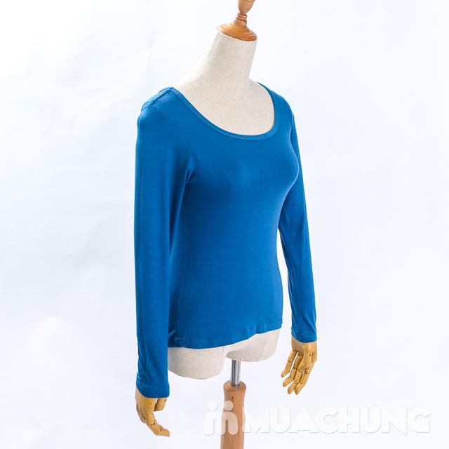 Áo cotton giữ nhiệt dài tay cho nữ - hàng VN - 13