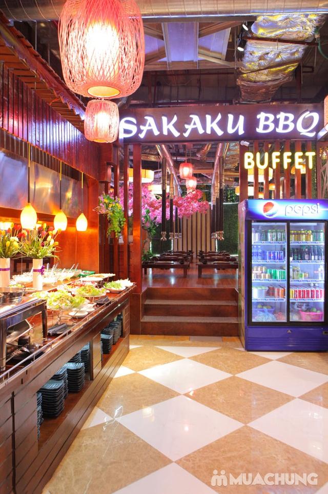 Buffet 50 món Nướng Lẩu Nhật Bản tại Sakaku BBQ  - 48