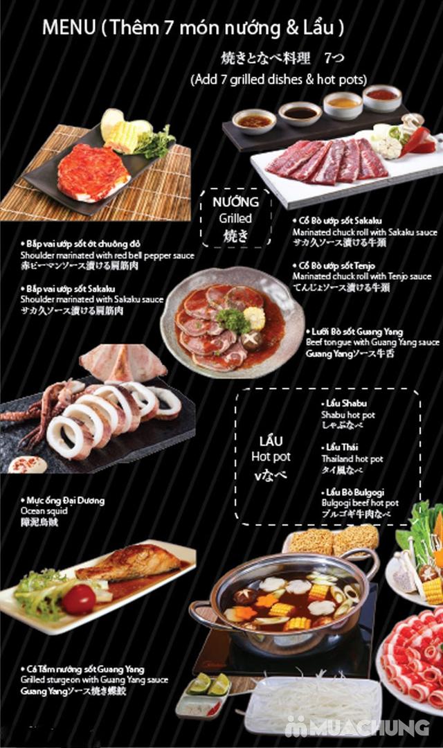 Buffet 50 món Nướng Lẩu Nhật Bản tại Sakaku BBQ  - 46