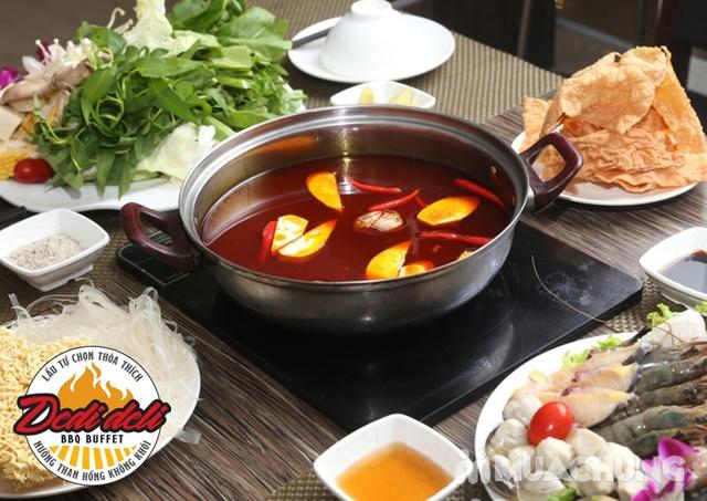 Buffet Nướng Lẩu Đặc Biệt -  Deli Deli Royal City - 36