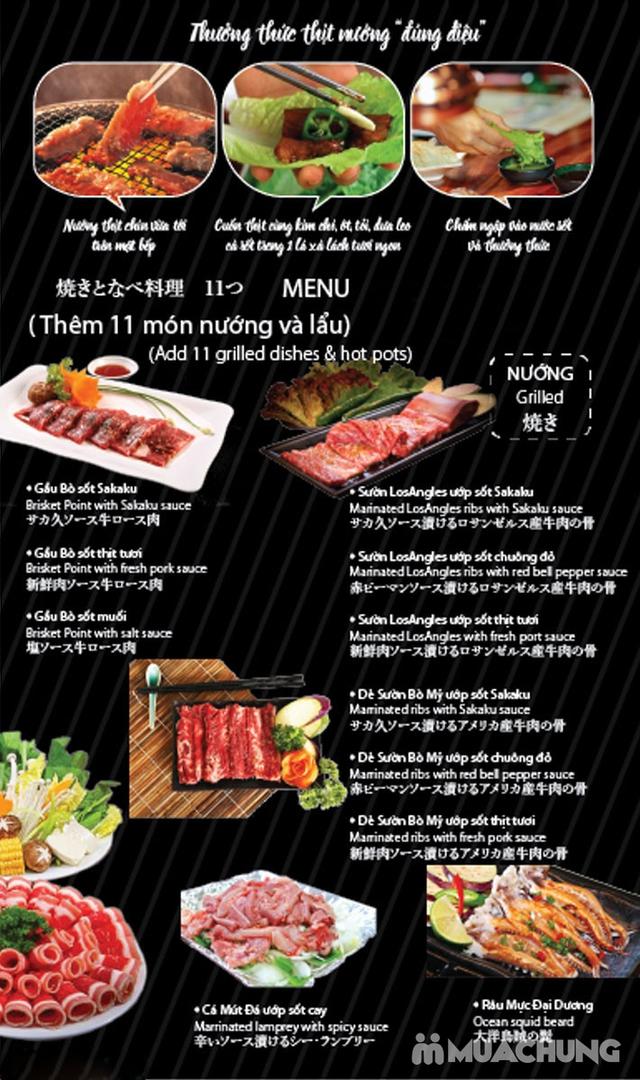Buffet 50 món Nướng Lẩu Nhật Bản tại Sakaku BBQ  - 47