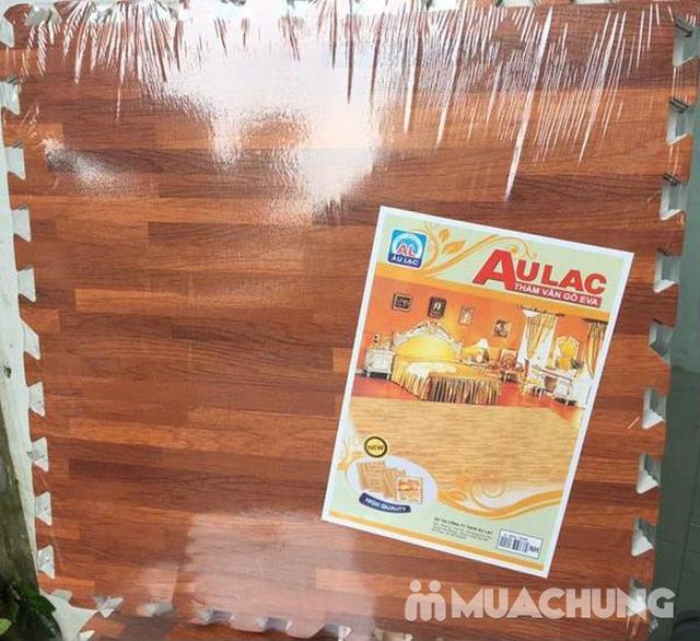 4 miếng thảm xốp vân gỗ Âu Lạc 60 x 60cm (1.44 m2) - 3
