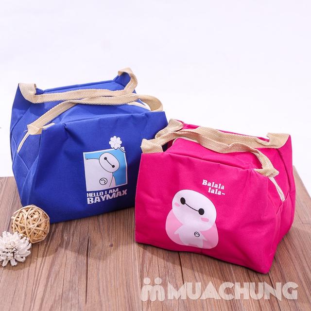 Combo 2 túi giữ nhiệt đựng đồ ăn kích thước to+ bé - 7