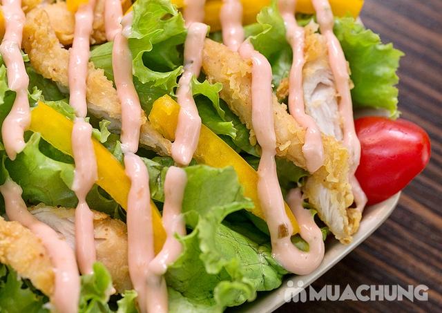 Set Gà nướng phô mai + Salad + Pepsi chuẩn vị Hàn - 5
