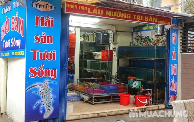 Set lẩu cá tầm & hải sản tươi sống cho 4 người Thiện Thìn Hải Sản tươi sống - 19