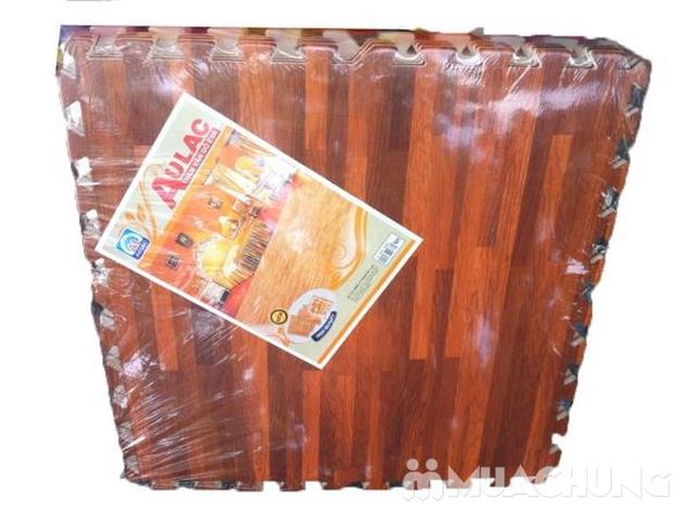 4 miếng thảm xốp vân gỗ Âu Lạc 60 x 60cm (1.44 m2) - 2