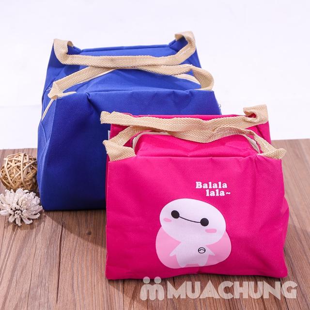 Combo 2 túi giữ nhiệt đựng đồ ăn kích thước to+ bé - 11