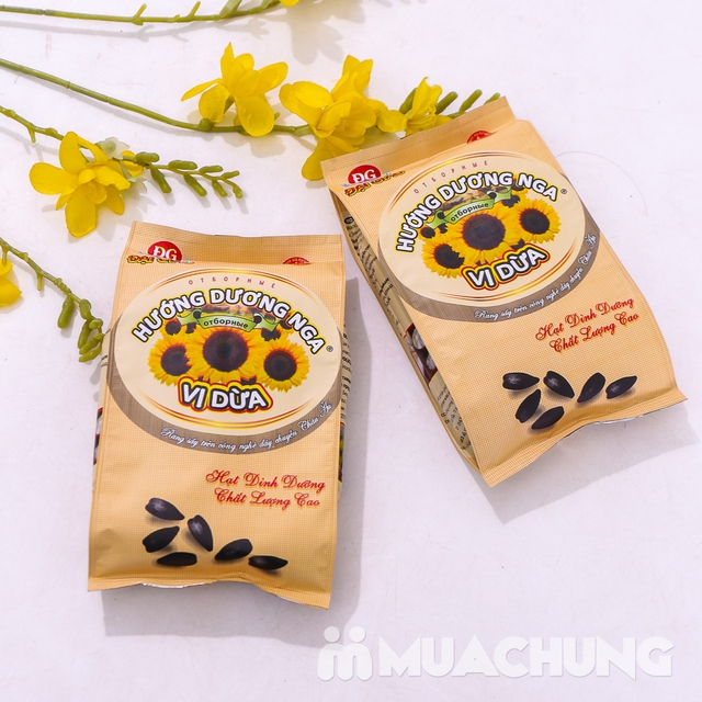Combo 2 gói hạt Hướng dương Nga vị dừa 300g - 6