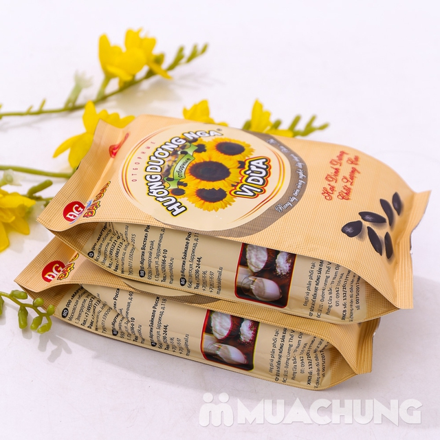 Combo 2 gói hạt Hướng dương Nga vị dừa 300g - 8