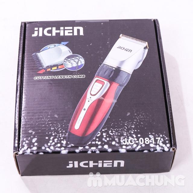 Bộ tông đơ cắt tóc Jichen tặng 2 kéo - BH 3 tháng - 9