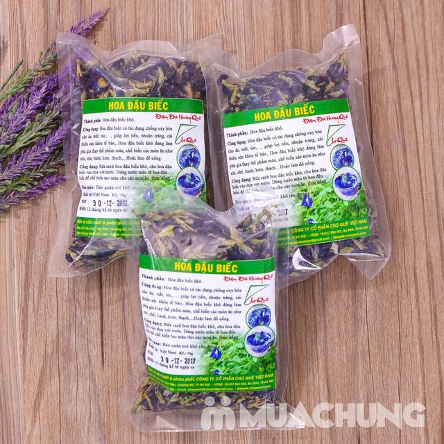 03 gói hoa đậu biếc khô nhiều công dụng gói 50g - 9