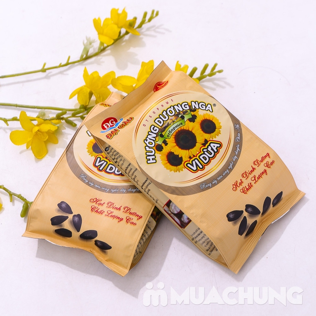 Combo 2 gói hạt Hướng dương Nga vị dừa 300g - 7