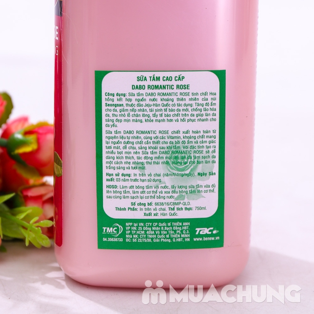 Sữa tắm cao cấp DaBo Hàn Quốc nhiều mùi hương - 8