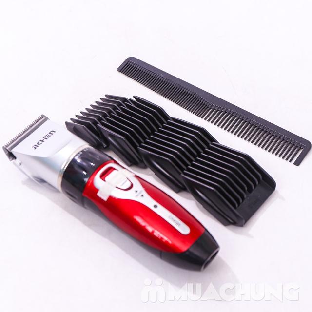 Bộ tông đơ cắt tóc Jichen tặng 2 kéo - BH 3 tháng - 15