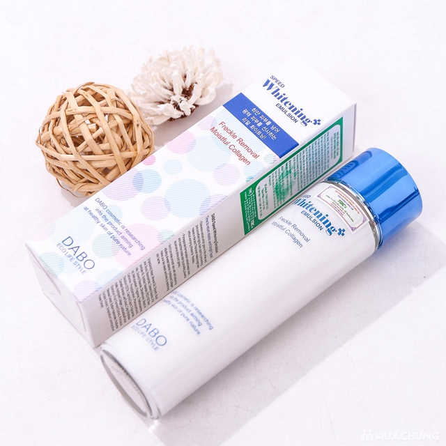 Nhũ sữa dưỡng thể tinh chất Collagen Dabo Hàn Quốc - 8