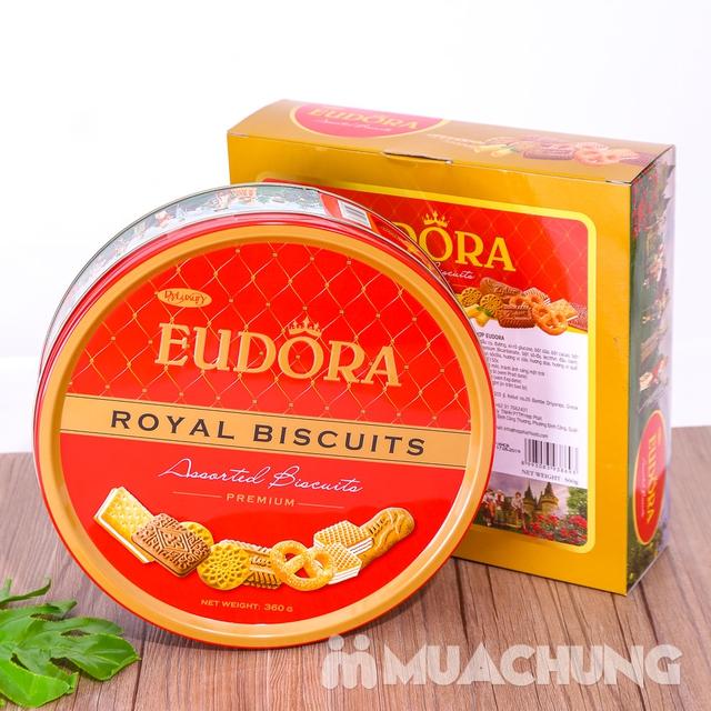 Bánh quy tổng hợp Eudora hộp thiếc 360g- Indonesia - 13