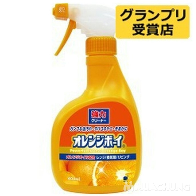 Chai dung dịch tẩy đa năng siêu mạnh 400ml Daichi - 1