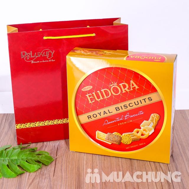 Bánh quy tổng hợp Eudora hộp thiếc 360g- Indonesia - 9