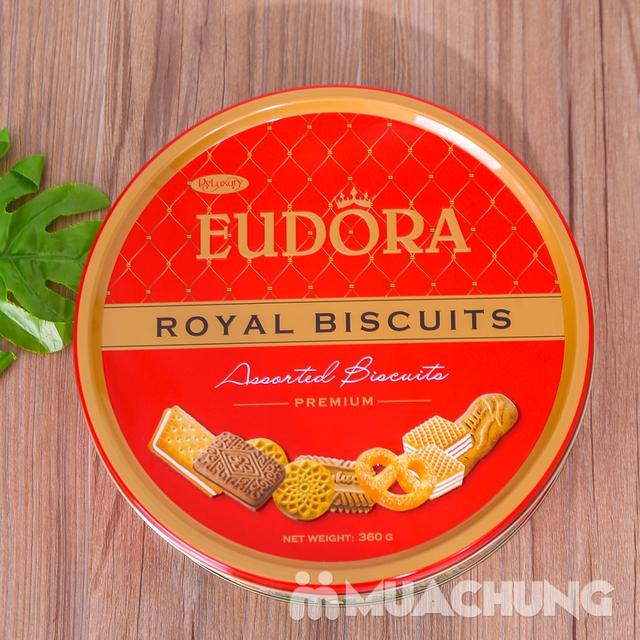 Bánh quy tổng hợp Eudora hộp thiếc 360g- Indonesia - 11