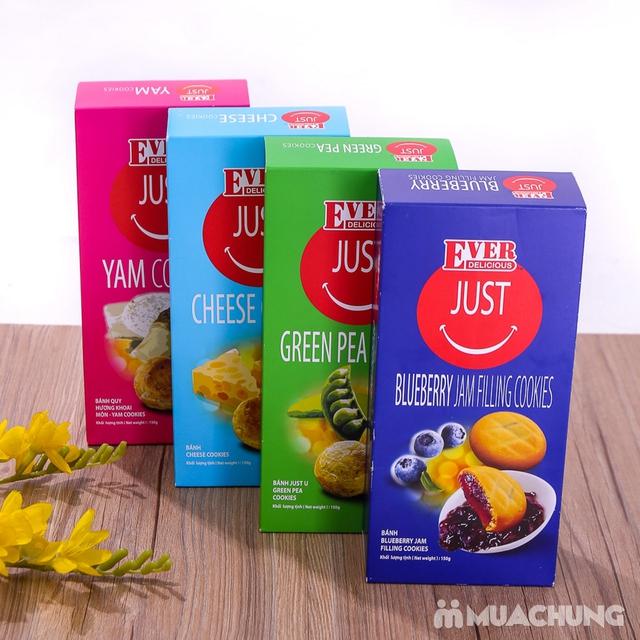 4 hộp bánh quy Just Malaysia nhiều vị 150g - 5