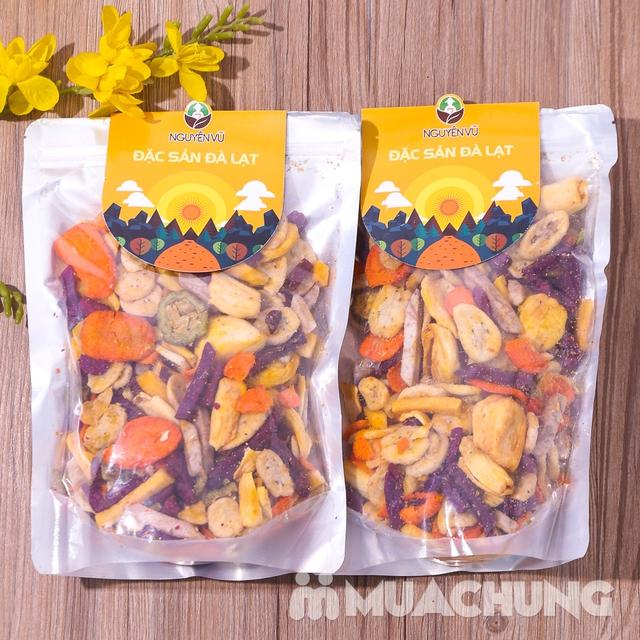 1kg hoa quả sấy thập cẩm Nguyên Vũ hương vị Đà Lạt - 9