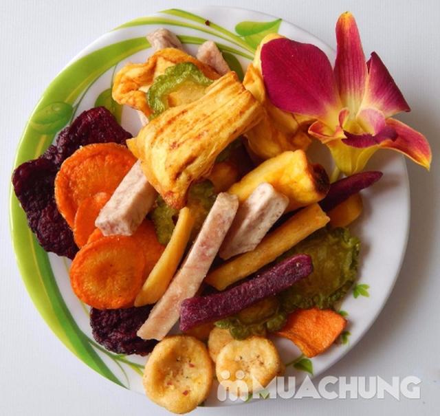 1kg hoa quả sấy thập cẩm Nguyên Vũ hương vị Đà Lạt - 3