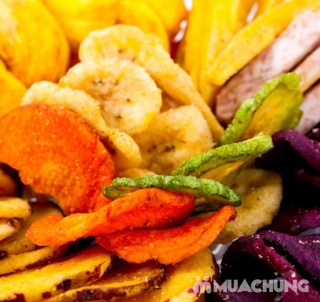 1kg hoa quả sấy thập cẩm Nguyên Vũ hương vị Đà Lạt - 5