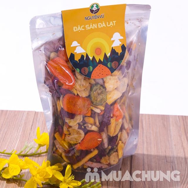 1kg hoa quả sấy thập cẩm Nguyên Vũ hương vị Đà Lạt - 11