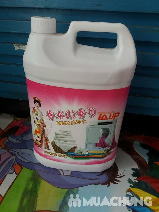 Nước giặt Laup xuất Nhật hương hoa thơm mát 5L - 1