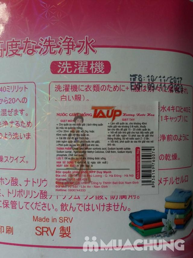 Nước giặt Laup xuất Nhật hương hoa thơm mát 5L - 3