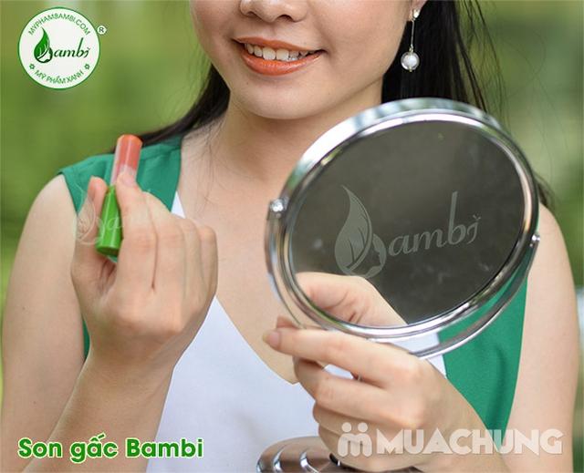 2 thỏi Son gấc dưỡng môi, giảm thâm Bambi - 6