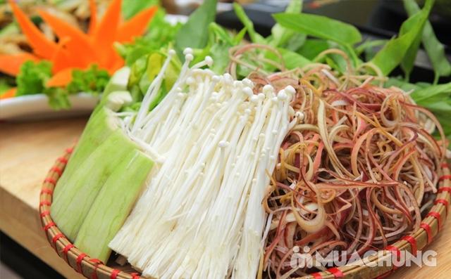 Đặc sản lẩu cua đồng nước trong ngon quên sầu 4-5N Nhà hàng Nhật Oanh  - 11