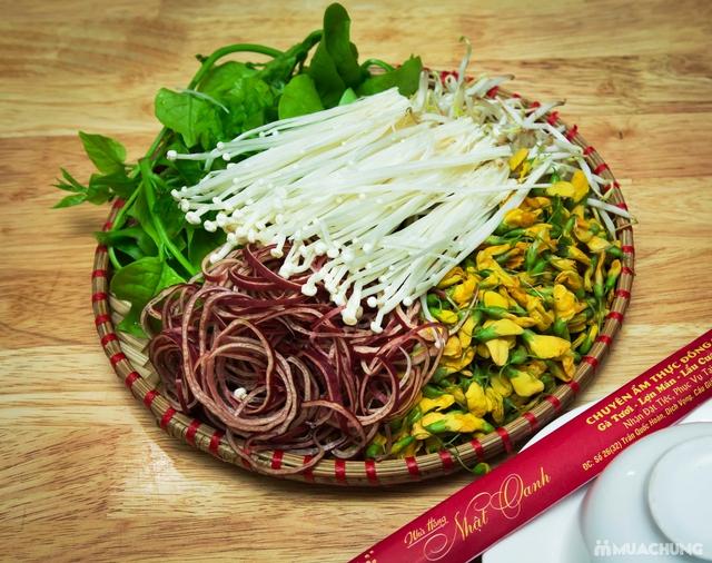 Lẩu Thái đặc biệt+ nhiều món ăn kèm hấp dẫn cho 4N Nhà hàng Nhật Oanh - 32