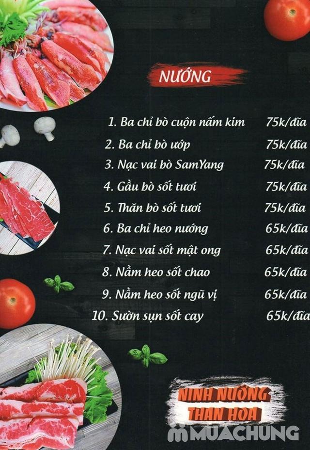 Buffet nướng lẩu đẳng cấp tại Ninh Nướng Than Hoa - 6