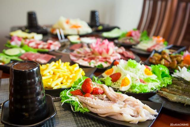 Buffet nướng lẩu đẳng cấp tại Ninh Nướng Than Hoa - 5