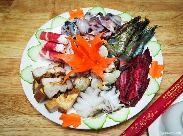 Lẩu Thái đặc biệt+ nhiều món ăn kèm hấp dẫn cho 4N Nhà hàng Nhật Oanh - 27