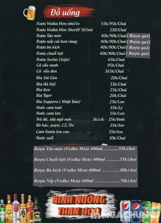 Buffet nướng lẩu đẳng cấp tại Ninh Nướng Than Hoa - 2