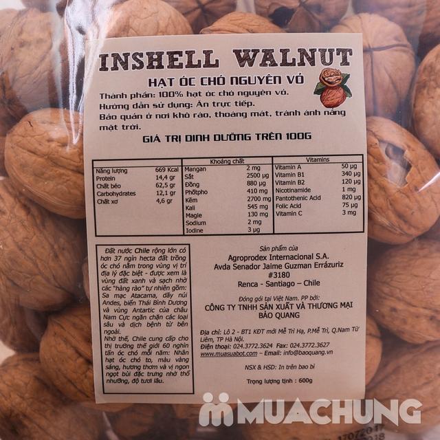 Gói 600gr hạt óc chó CHILE nguyên vỏ bổ dưỡng - 8