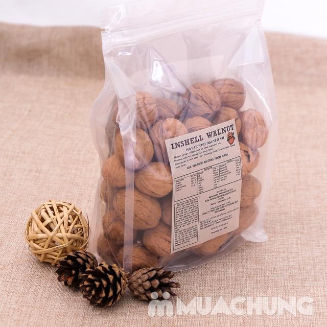 Gói 600gr hạt óc chó CHILE nguyên vỏ bổ dưỡng - 9