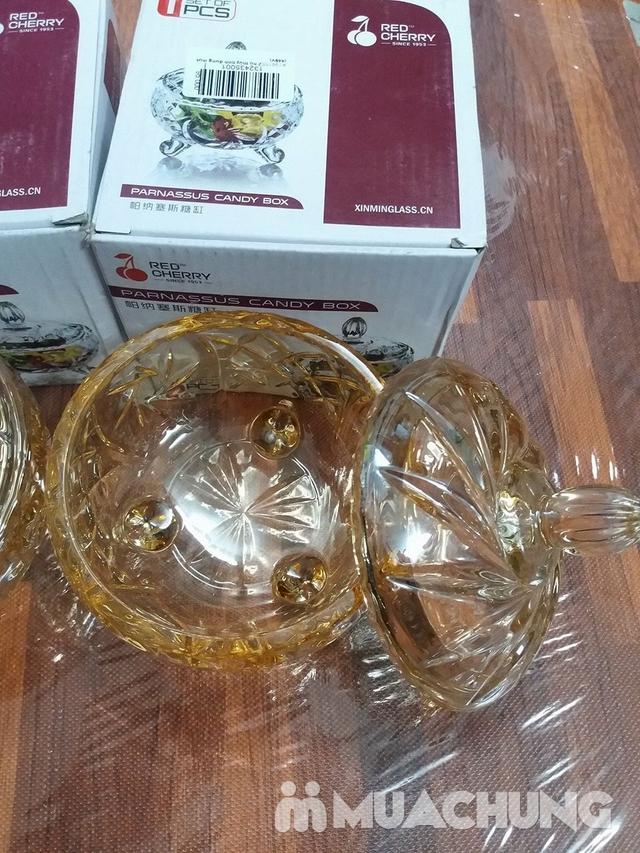 2 hũ thủy tinh đựng mứt vàng (554V) - 2
