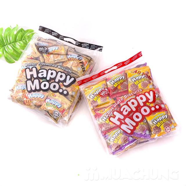 Combo 2 gói bánh Happy Moo thơm, giòn- NK Malaysia - 6