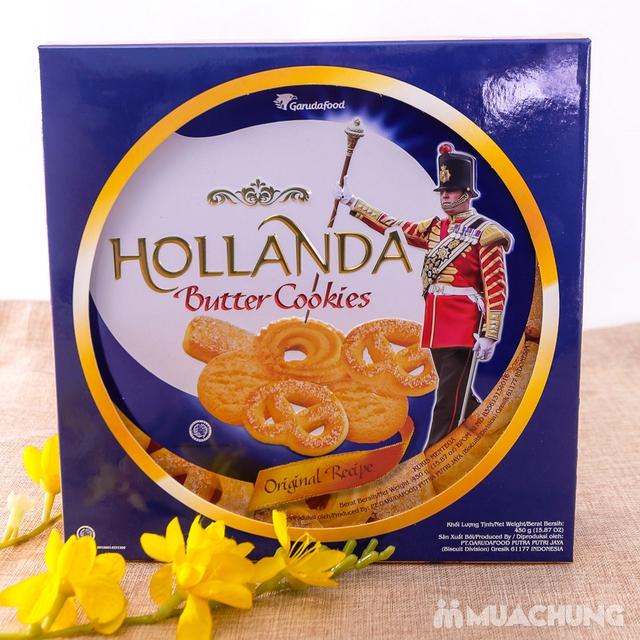 Bánh quy bơ Hollanda hộp thiếc 450g - 8