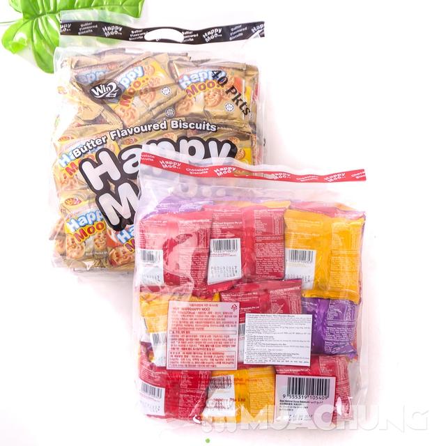 Combo 2 gói bánh Happy Moo thơm, giòn- NK Malaysia - 8