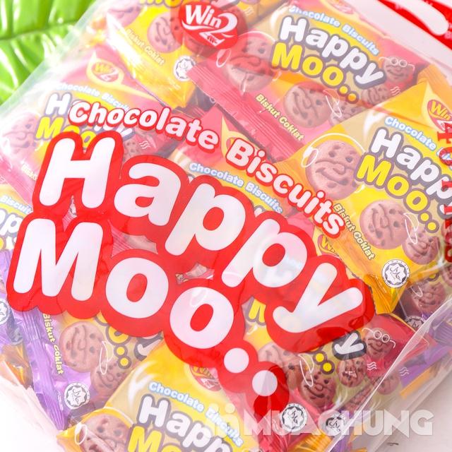 Combo 2 gói bánh Happy Moo thơm, giòn- NK Malaysia - 11