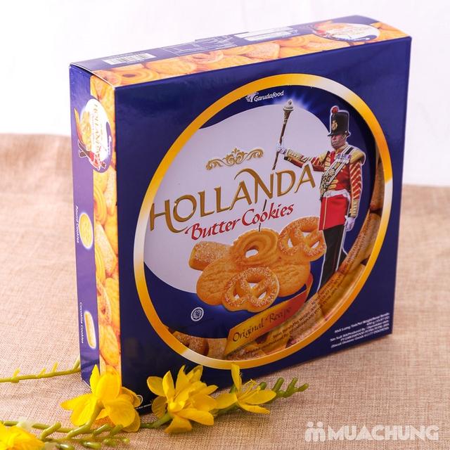 Bánh quy bơ Hollanda hộp thiếc 450g - 9
