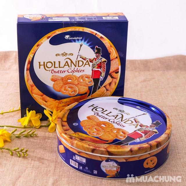 Bánh quy bơ Hollanda hộp thiếc 450g - 6