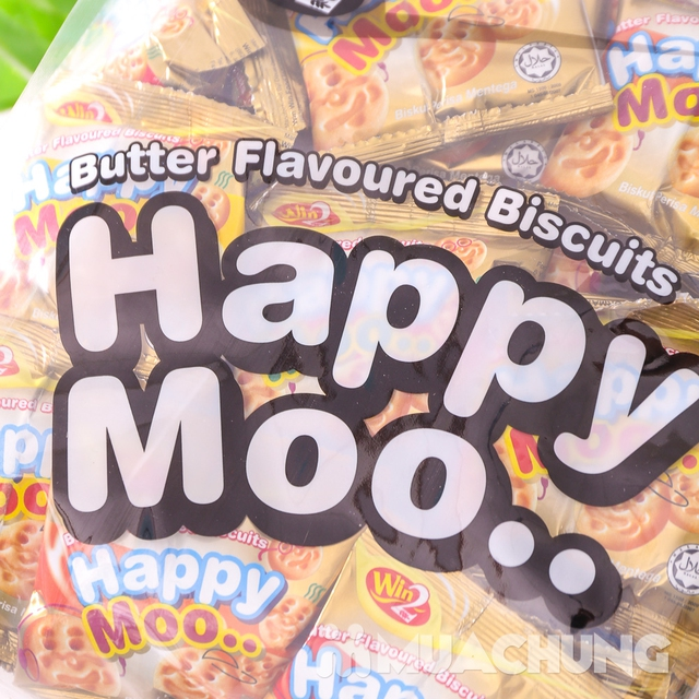 Combo 2 gói bánh Happy Moo thơm, giòn- NK Malaysia - 10