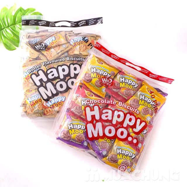 Combo 2 gói bánh Happy Moo thơm, giòn- NK Malaysia - 7