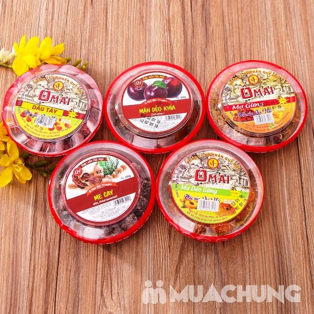 5 hộp ô mai hương vị cổ truyền Hà Nội (200g/1 hộp) - 12