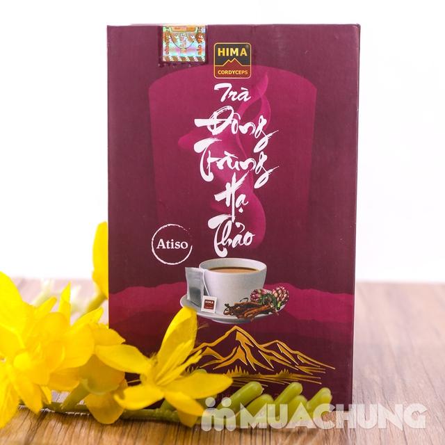 6 lon nước yến đông trùng hạ thảo + trà HIMA   - 16